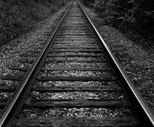 And no, I don't mean these train tracks.