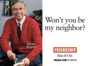 Friendship mister rogers