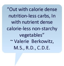 Low Carb Dieting and Nutrition with Valerie Berkowitz