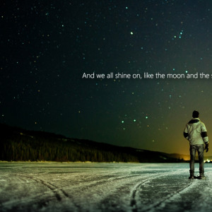 1024x1024 ice outer space stars quotes john lennon beetles 1920x1080 ...