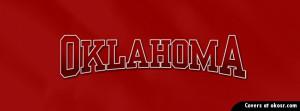 Oklahoma Sooners Facebook Cover