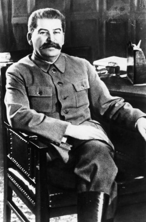 Thus, Stalin made it a policy that showing anything less than complete ...