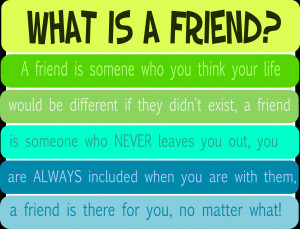 What is a friend quote