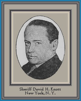 Sheriff David H. Knott – New York – 1921