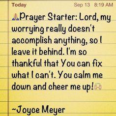 joyce meyer quotes | Joyce Meyer Quotes | Explore My Block | Faith ...