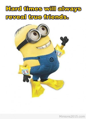 Minion in vacation funny image