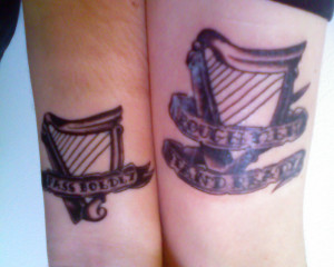 Irish Quote Tattoos For Women Brother sister tattoo quotes