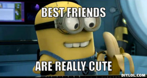 Minion Best Friend Meme Minion generator. best friends