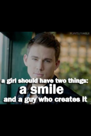 Channing Tatum quotes ((;