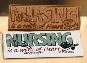 Nurse Appreciation Chocolate Bar