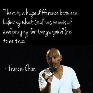 Francis Chan on Prayer
