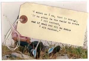 Walt Whitman...Song of Myself!