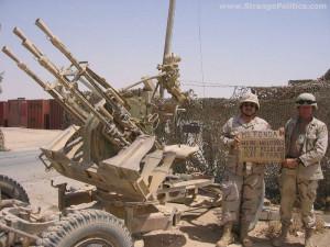 US TROOPS IN TIKRIT, IRAQ WAITING FOR JANE FONDA