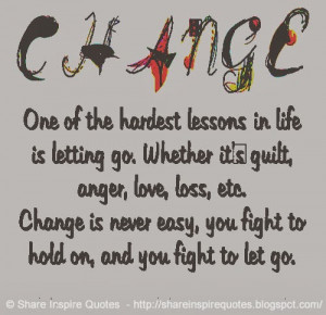 fight to hold on and you fight to let go