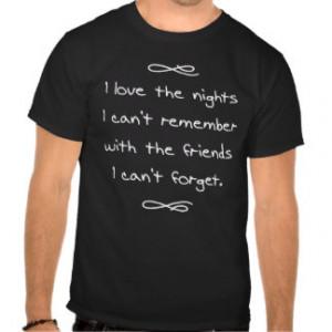 Night To Remember T-shirts & Shirts