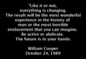 Milton William Cooper, What Do You Think?