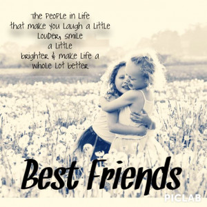 ... friend is your other half when I saw this quote I loved it and wanted