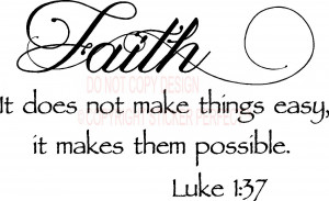 Faith Quotes And Sayings Wall decals quotes sayings