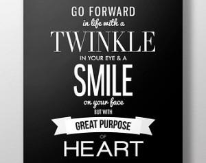 Inspirational Quote Poster Black & White Motivational LDS Mormon Art ...