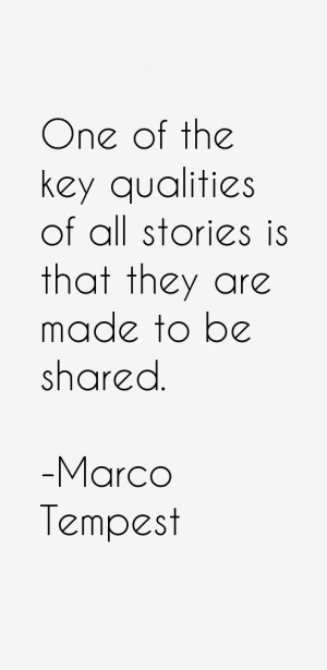 Marco Tempest Quotes & Sayings