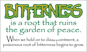 Bitterness: The Root that Ruins & 2 NEW Recipes