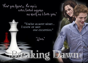 Quote Bella and Edward Twilight Breaking Dawn Image