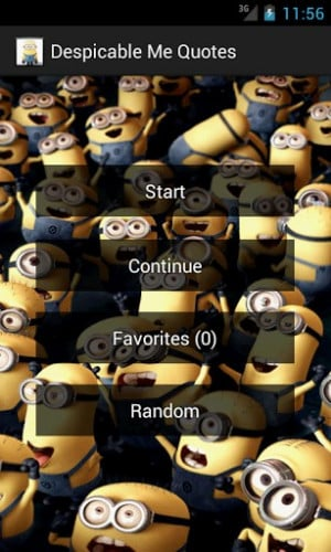 Despicable Me Funny Quotes