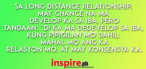 Long Distance Relationship Quotes – Tagalog Quotes