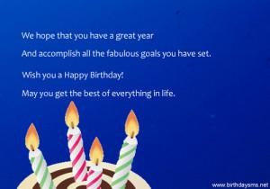 Birthday Sayings for Employee