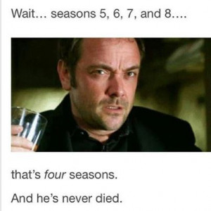 You're good; but I'm Crowley.