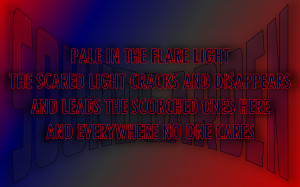 4th Of July - Soundgarden Song Lyric Quote in Text Image