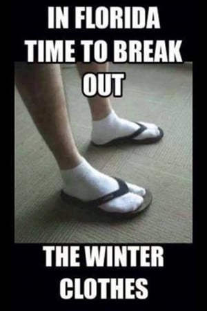 winter clothes in florida