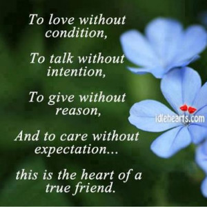 Love Quotes , Talk Quotes, Give Quotes, Care Quotes, True friends ...