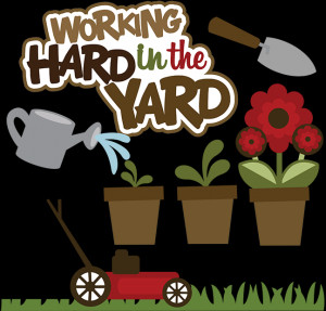 Yard Work Clip Art