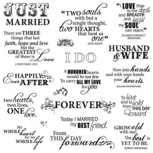 Cute Marriage Quotes And Sayings Quotes for wedding invitations