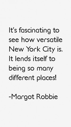 Return To All Margot Robbie Quotes