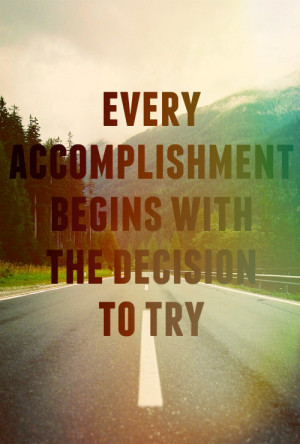 ... inspiration try goals life quote Inspiring image quote accomplishment