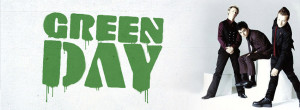 Green Day Band Background Facebook cover