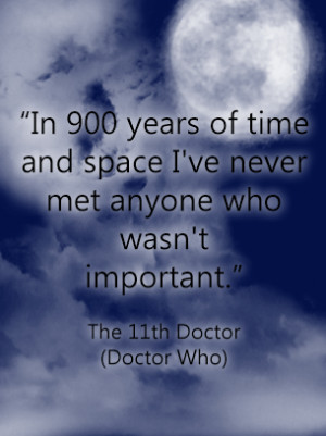 Quotes about Life Doctor Who