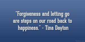 Tina Dayton Quote...