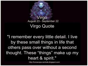 Virgo Quote