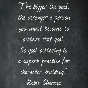 Robin Sharma on character-building