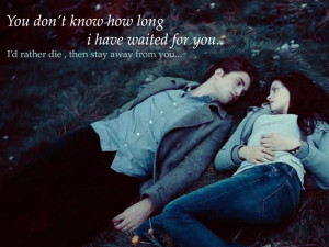 Twilight Series Edward & Bella