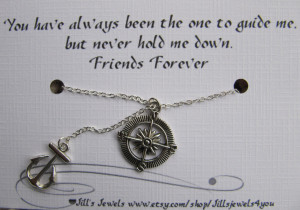 Best Friend Quotes Female To Male ~ Best Friend Compass and Anchor ...