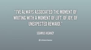 Seamus Heaney Quotes, Famous Seamus Heaney Quotes