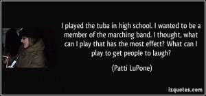 More Patti LuPone Quotes