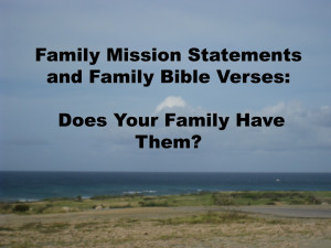 Mission Statement Exandles...