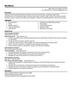 administrative-assistant-administration-office-support-resume-example ...