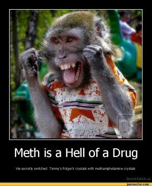 Meth is a Hell of a DrugWe secretly switched Timmy's Folger's crystals ...