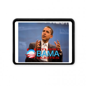 ... Auto > Stupid Obama Quotes Cover Rectangular Hitch Cover